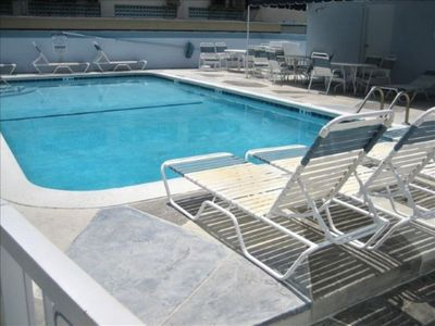 Photo for Windwood Beachside 101 on Hollywood Beach 1/1 for 4 Pool