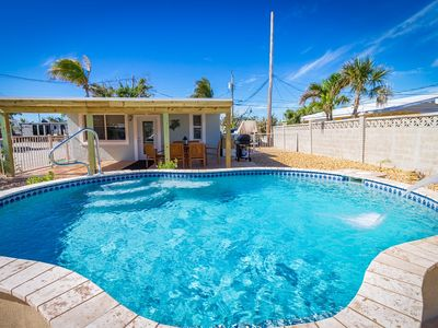 Photo for P48  -  Fin & Tonic - Charming 2 bedroom, 2 bath pool home with 50 ft of dockage