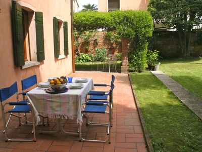 Photo for Three minutes from the station S. Lucia with charming garden, suitable for families