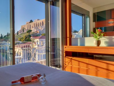 Photo for Breathtaking Acropolis View Suite in Plaka, Athens!