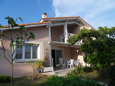 Photo for capbreton house with pool 200m from the beach