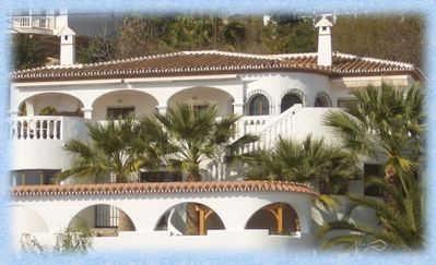 Photo for Luxurious villa in Salobrena with fantastic sea views from each room