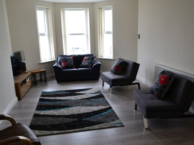 Photo for Stunning sea front holiday apartment