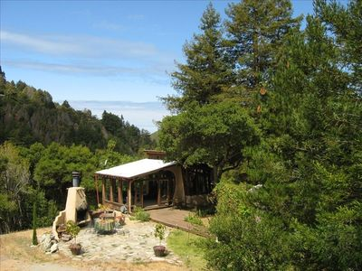 Photo for Big Sur Dream Home  Completely private with an outdoor hot tub and fireplace.