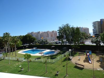 Photo for Apartment with, wifi, garage and pool! Campello