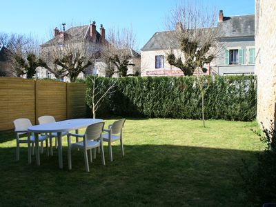 "Photo for App. 2 pers.""The 4Tilleuls"" garden fence, private parking, access Wellness area"