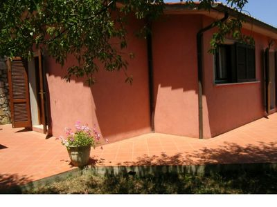 Photo for family House, 2 bedrooms, 1 bathrooms, 1 km to the sea, 1 km to Capoliveri, 3 Beds room, 6 people.