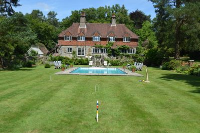 Fairstowe from the croquet lawn