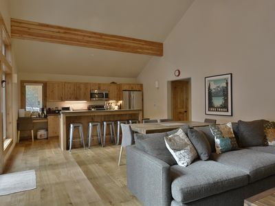 Photo for NEW LISTING - Contemporary 3 BR 3 Bath in Tahoe Donner - Hot Tub Too!