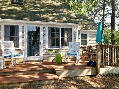 Photo for Adorable two bedroom home with a/c less than 500 feet to Sea Street Beach!