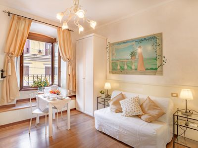 Photo for Elegant apartment with view of Vatican, in historic centre Rome +air/con & WiFi