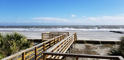 Photo for Beachfront house, sleeps 10, Book early for summer vacation.