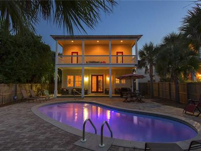 Photo for Beach Basket - Crystal Beach! Private Pool! Home Movie Theater! Basketball Court
