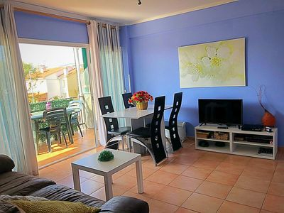Photo for Apartment in front at the sea, 25 kms away Barcelona