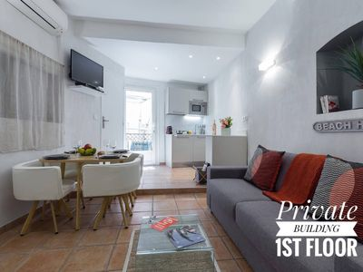 Photo for PRIVATE BUILDING, 4 APARTMENTS, AIR CONDITIONING, WIFI - UNIQUE IN NICE - OLD NICE