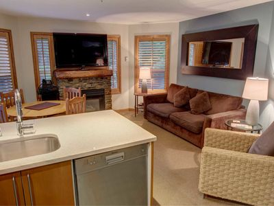 Photo for Prime Ski-in Ski-out Location! Pool, Hot tubs, BBQ, sleeps 8 (112)