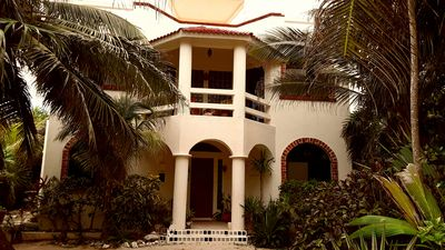 Photo for Romantic Oceanview  B&B - Pool, Rooftop Jacuzzi, in Lush , Tropical Setting