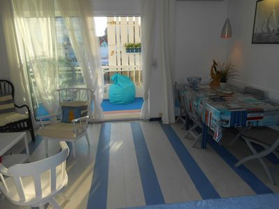 Photo for Large apartment center of valras beach with private SPA