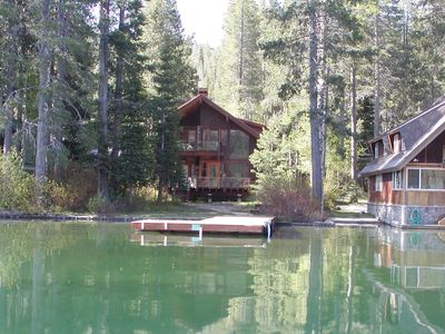 Photo for 4 bedroom, 3.5 bath, sleeps 12. Donner Lakefront with private dock DLR#024