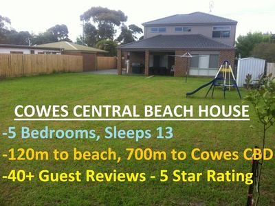 Photo for Cowes Central Beach House