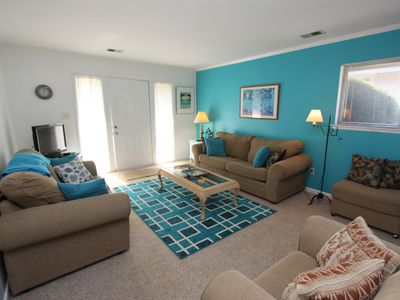 Photo for Charming North Beach condo with pool!