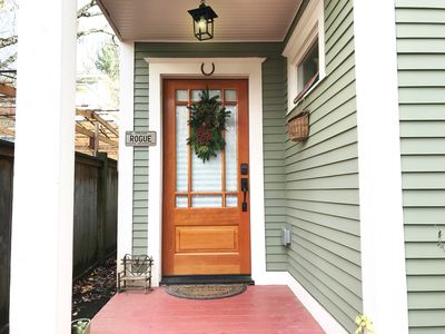 Photo for Cottage in Historic Irvington neighborhood near Convention Center and shops!