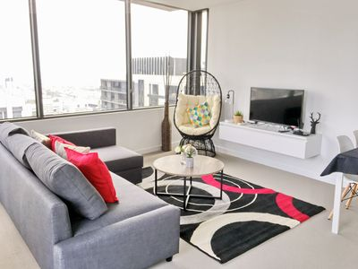 Photo for NEST-APARTMENTS *LV39 *View*2 BDRs Cozy &Designer Melbourne