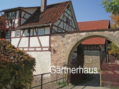 Photo for Gardener's house at the water castle Unsleben