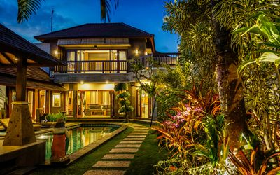 Photo for Luxurious 3 Bedroom Private Villa with Pool in Prime Location of Canggu