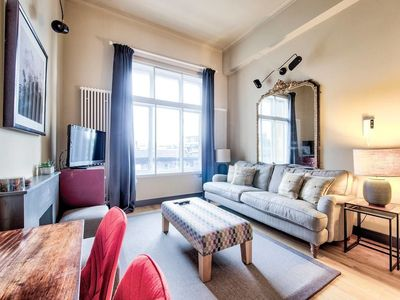 Photo for Lothian Road Apt With Castle View & Elevator
