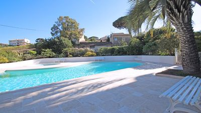 Photo for Studio cabin 3 people - Pool residence - Near center and beach - Sainte Maxime