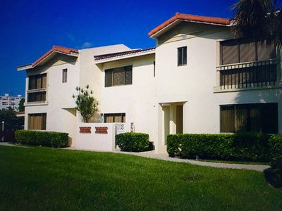 Photo for 3 Bedroom 3 Bath Boca Raton Townhouse Across from Ocean with Beach Access