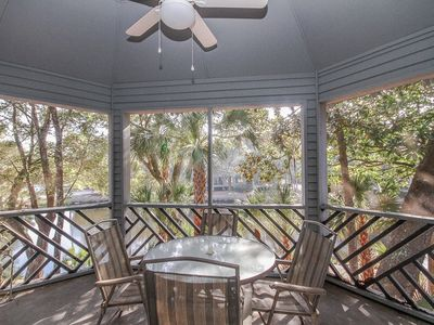Photo for Lagoon View | Walking Distance To The Beach | Screened In Porch  | 1 BR Kiawah Island Villa