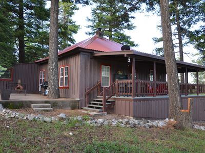 Photo for Cozy 3 bedroom 2 bath historic Cabin Retreat perfect location!
