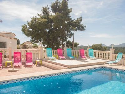 Photo for El Tossal, villa with 7 bedrooms