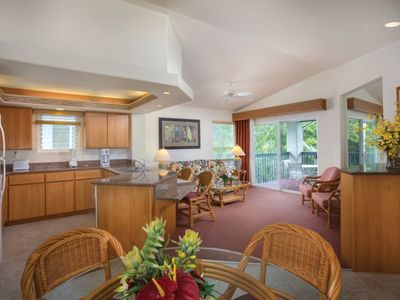 Photo for Commodious Club Wyndham Bali Hai Villas, 2 Bedroom Presidential Suite, Explore Hawaii's Delectable Restaurants