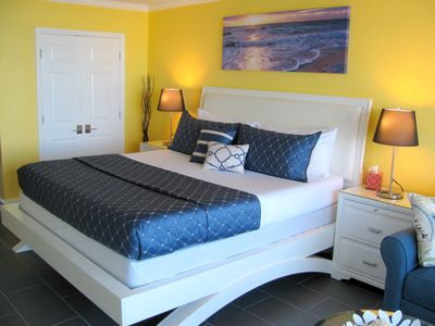 Photo for Oceanfront, Luxurious Studio, Fully Renovated & Clean
