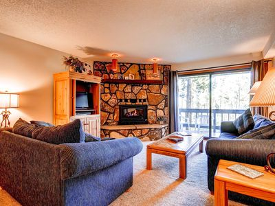 Photo for 7th Night Free! Recent Kitchen Upgrades, Wi-Fi, Shared Hot Tubs, Gas Fireplace