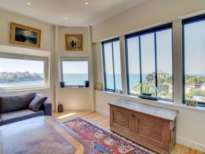 Photo for Dinard Apartment, Sleeps 6 with Free WiFi