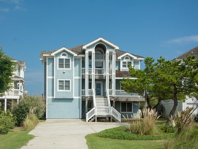 Photo for Beach Haven 1 South: Oceanfront seven bedroom home with heated pool and game room with pool table.