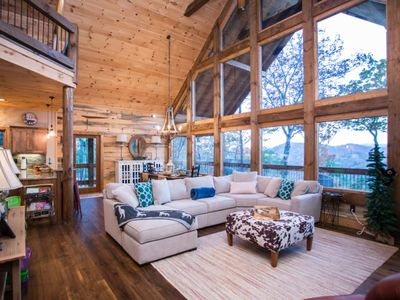 Photo for Looking for a peaceful and relaxing Mountain View cabin, look no further.