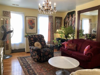Photo for Bright, Charming 3-BR Apartment In Hudson