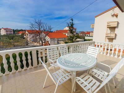 Photo for One bedroom apartment with terrace Novalja, Pag (A-17051-a)