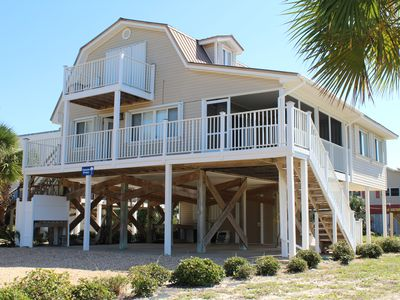 Photo for Palmetto Breeze - 3 Bed / 2 Bath Gulf Front Home in Indian Pass
