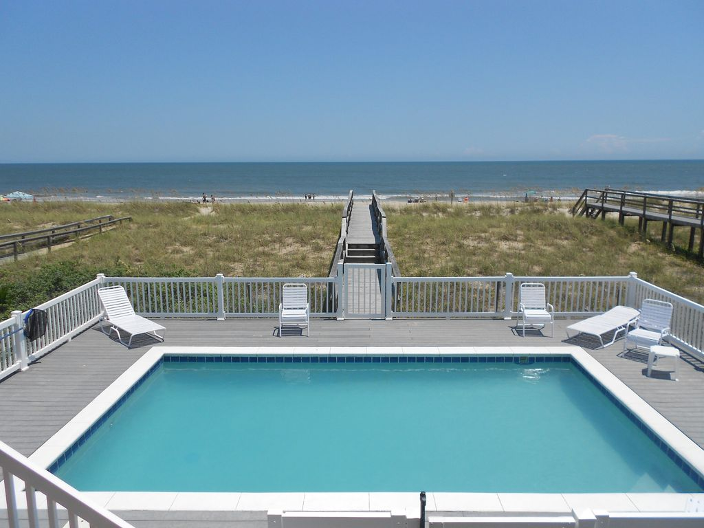 Kure Beach House Rentals With Private Pool