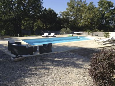 Photo for Villa with pool overlooking vineyards