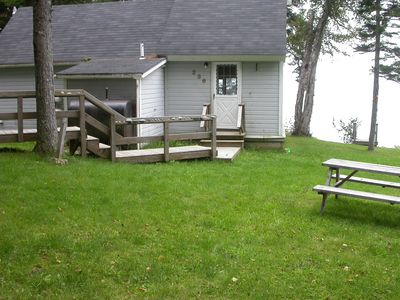 Photo for Private Beach Cottage is walking distance to Roque Bluffs State Park.
