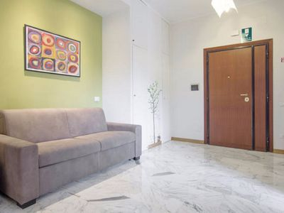 Photo for Saint Peter Square  apartment in Valle Aurelia with WiFi, air conditioning & lift.