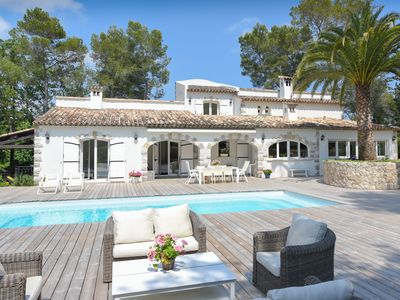 Photo for Villa totally renovated walk from the Cannes Mougins Golf Club