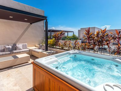 Photo for Trendy Penthouse with Jacuzzi and Gym - Palmas